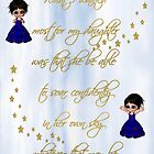 What I Wanted Most For My Daughter Poster by Vickie Emms