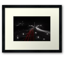 The Causeway - Perth Western Australia Framed Print