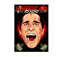 American Psycho Untouched Art Print