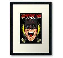 American Psycho Gotham Edition Framed Print