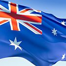 Australian Flag by Ann Warrenton