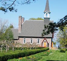 Grande Pre Church, Nova Scotia by Naomi Slater