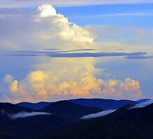Thunderhead on the Blue Ridge Parkway by Bill Shuman