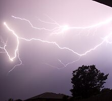 Lightning  by Peter Eshuis