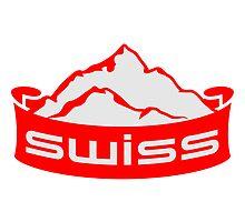 Swiss Mountain Banner Logo by Style-O-Mat