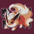 Retro Flareon by Yuririi