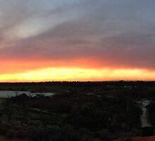 Sunset & Smoke by Cindy Hitch