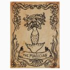 Mermaid Tarot Sticker: The Magician by SophieJewel