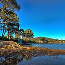 Shelley Beach waterfront HDR - Orford, Tasmania, Australia by PC1134