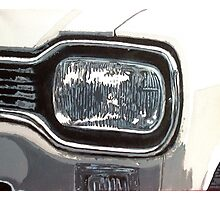 Mk.1 Ford Escort Headlamp Photographic Print
