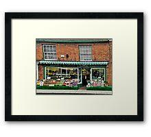 The Old Vegi Shop Framed Print