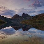 Sunrise Reflections at Cradle Mt by Garth Smith