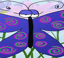 The Butterfly With An Attitude by OneArtsyMomma