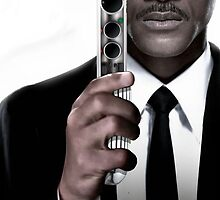 Men in Black W.Smith (Galaxy cover) by M&J Fashion Graphic