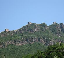 Great Wall of China by bourboulithra