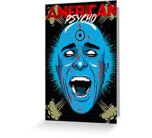 American Psycho Manhattan Edition Greeting Card