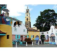 Portmeirion, North Wales  Photographic Print