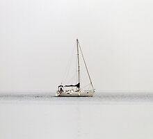 Ship on the fog by MASF
