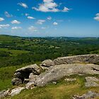 Views across Dartmoor by Jay Lethbridge