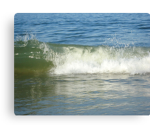 Wave Break Canvas Print