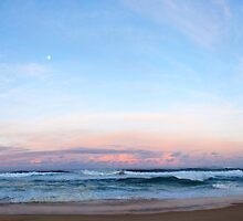 High tide, Delmenay by Glen Johnson