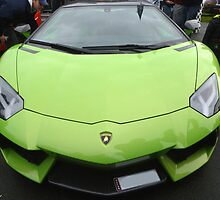 Green Lamborghini by Vicki Spindler (VHS Photography)