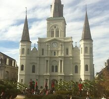 Saint Louis Cathedral a La Nouvelle Orleans 001  by travisferrell