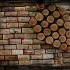 Wine Cork Wall 353 by ArtzMakerz