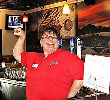 Boffo Bartender by Monnie Ryan