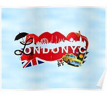 ☂ LONDONYC ☁ Poster