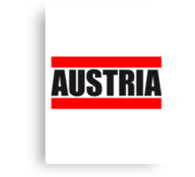 Cool Austria Design Canvas Print