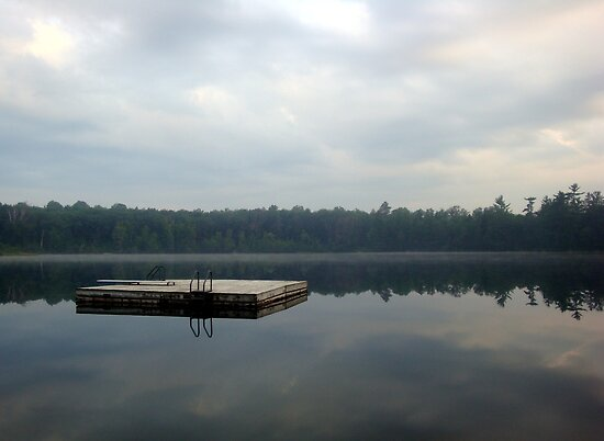 Smooth Lake by Timothy  Ruf
