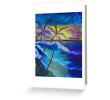 """""""Longed Paradise"""" by Carter L. Shepard Greeting Card"""
