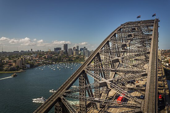 Sydney Harbour Bridge by Jola Martysz