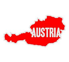 Austria Map by Style-O-Mat