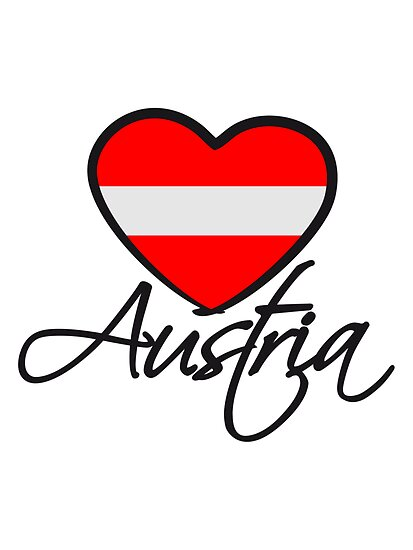 Austria Love Heart by Style-O-Mat