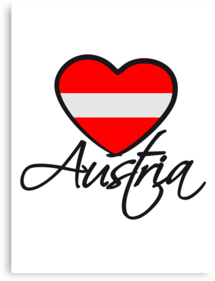 Austria Love Heart by Style-O-Mat