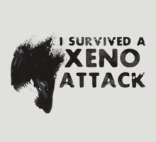 I survived a Xeno Attack by Insanmiac