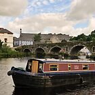 Kayla Marie, narrowboat, Graiguenamanagh, County Kilkenny, Ireland by Andrew Jones