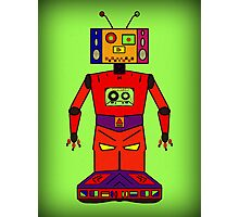Robot Mix Tape Photographic Print