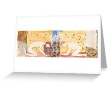 I keep searching for your traces Greeting Card