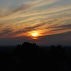 Summer sunset by KateSecretwomen