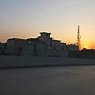 Peshawar sunset by heinrich