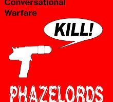 Phazelords - Conversational Warfare Album Cover by OmandOriginal