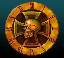 Skull Iron-cross by kuuma