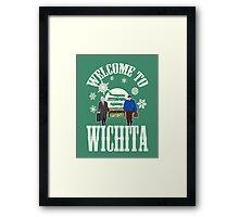 Welcome To Wichita Framed Print