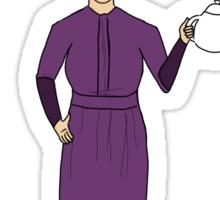 Mrs. Hudson (Light Colors) Sticker