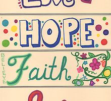 Love Hope Faith Joy by byAngeliaJoy