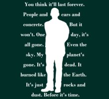 9th Doctor quote shirt by sasukex125