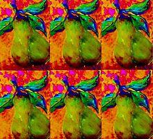 Mirrored Pears by EloiseArt